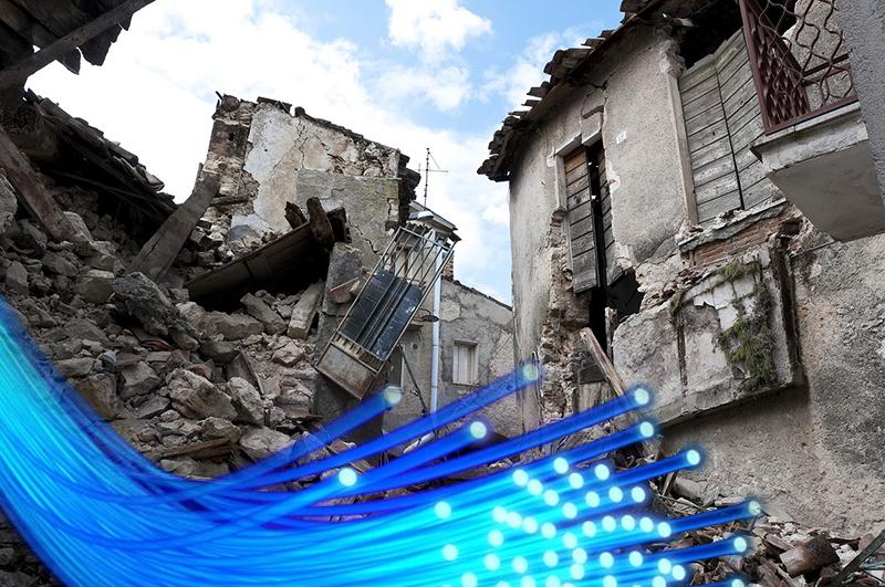 Los cables de fibra óptica podrían detectar con gran antelación los terremotos.